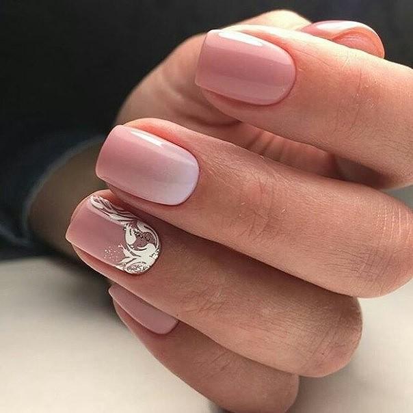 Натуральные дизайны ногтей фото