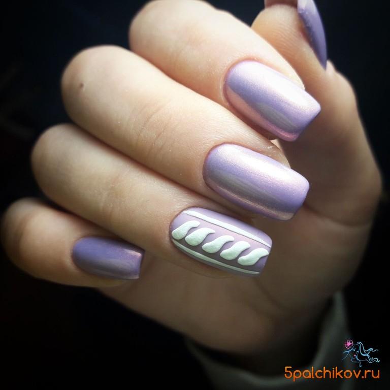 простой вязаный дизайн ногтей фото стильного дизайна ногтей