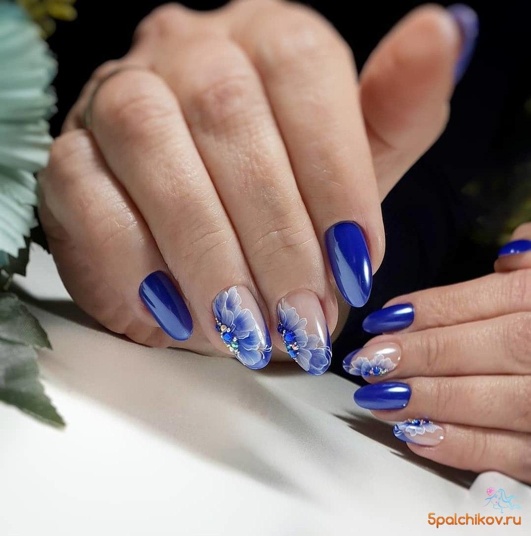 Маникюр с тюльпанами: фото ногтей