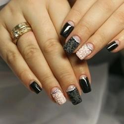 фото дизайн ногтей лунный